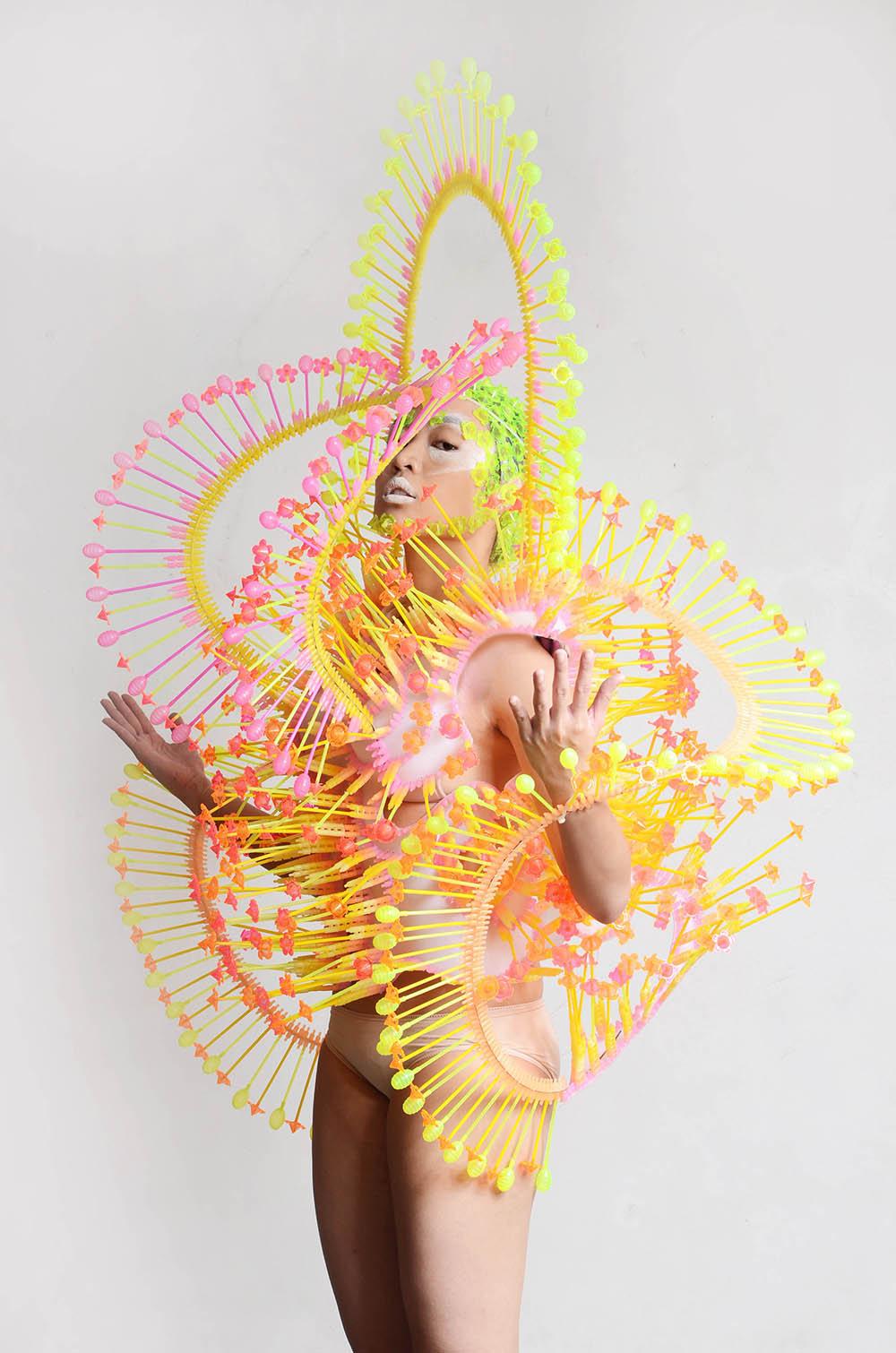 The Cross-Dimensional Wearable Art of Leeroy New