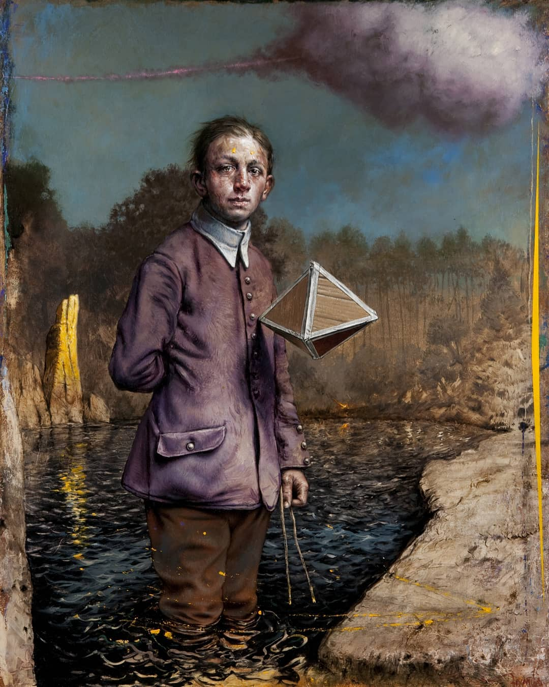 The Magical Realist Portraits of Eddy Stevens