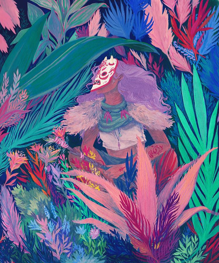 Nikoo Bafti Reimagines Mother Nature in Illustrations
