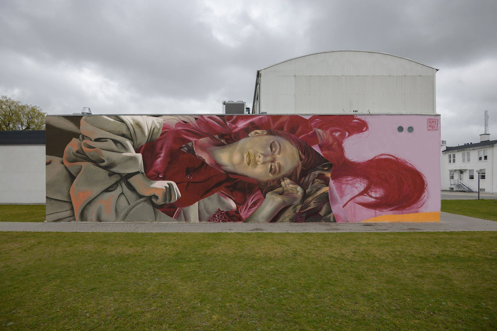 Telmo Miel Show New Mural, Paintings at Kirk Gallery