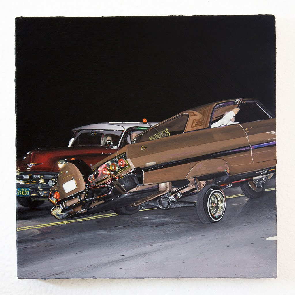 Paintings of Perez Bros Explores Car Culture