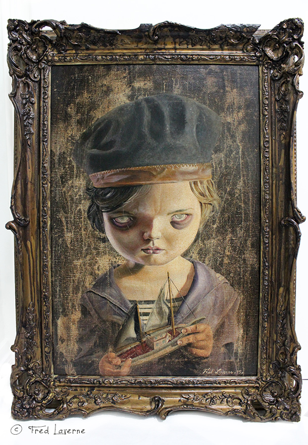 The Dark Surrealist Paintings of Fred Laverne