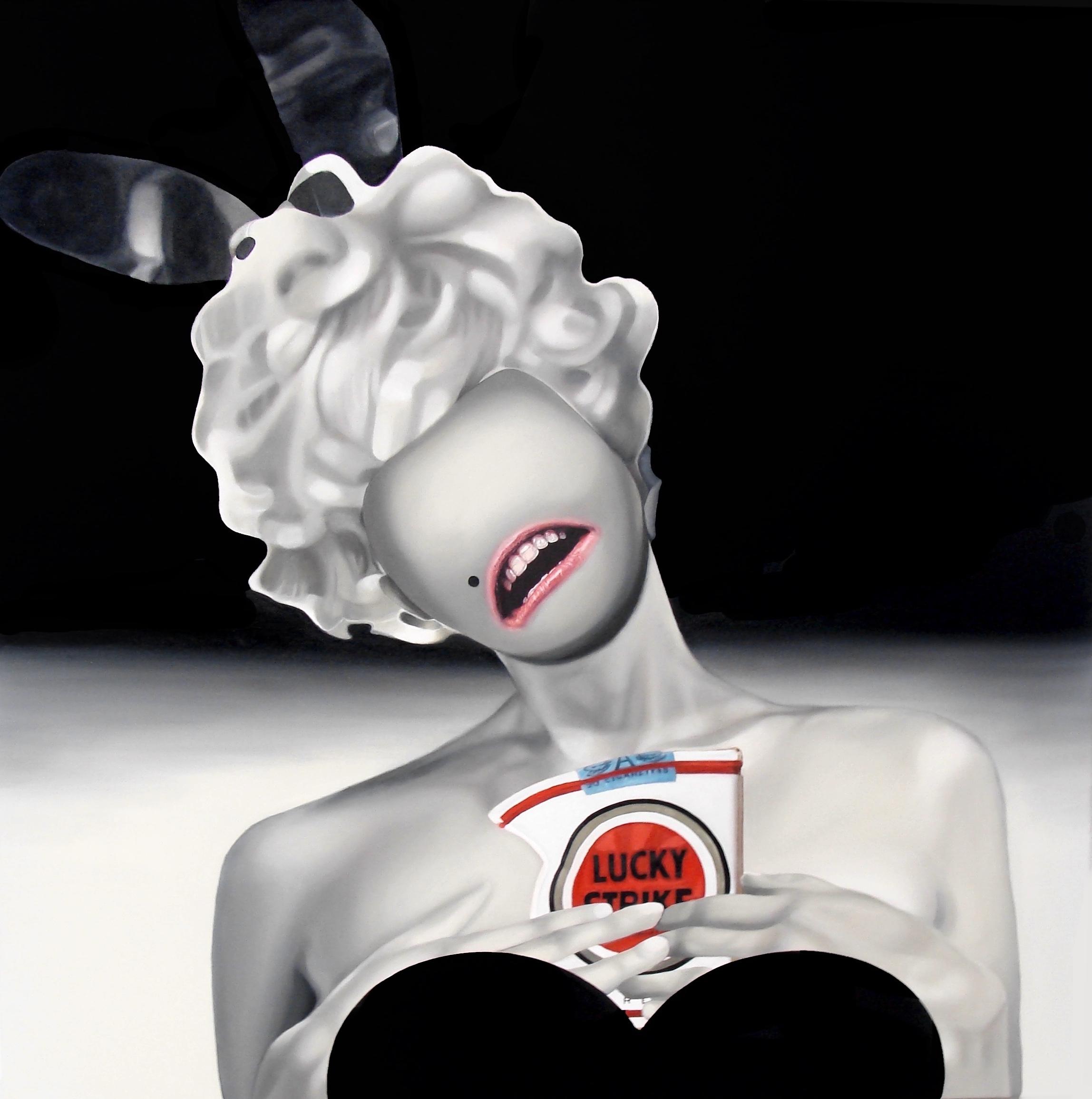 Teiji Hayama's New Paintings Examine FAME