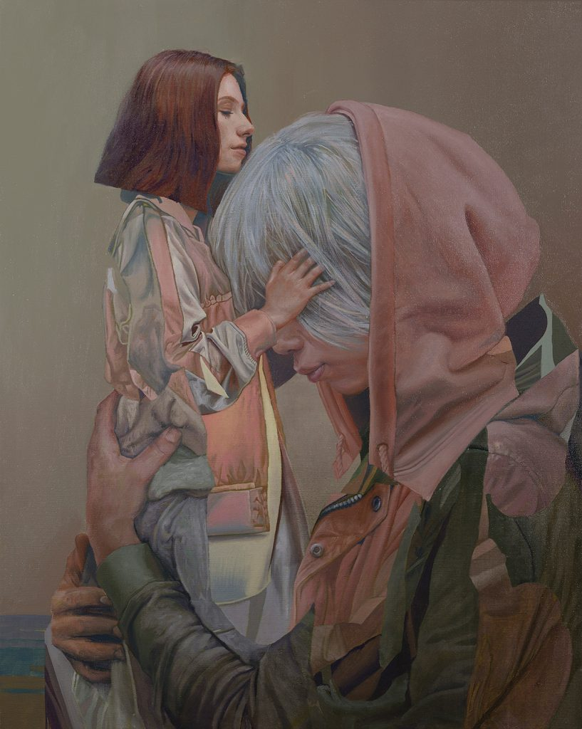 Telmo Miel Brings Collaborative Paintings to Thinkspace